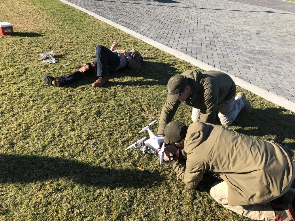 counter-terrorism training for bomb techs
