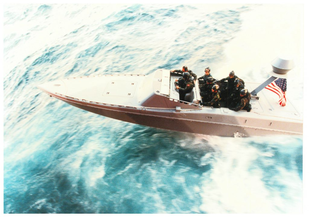Fastboat, Navy Special Operations Foundation support pic