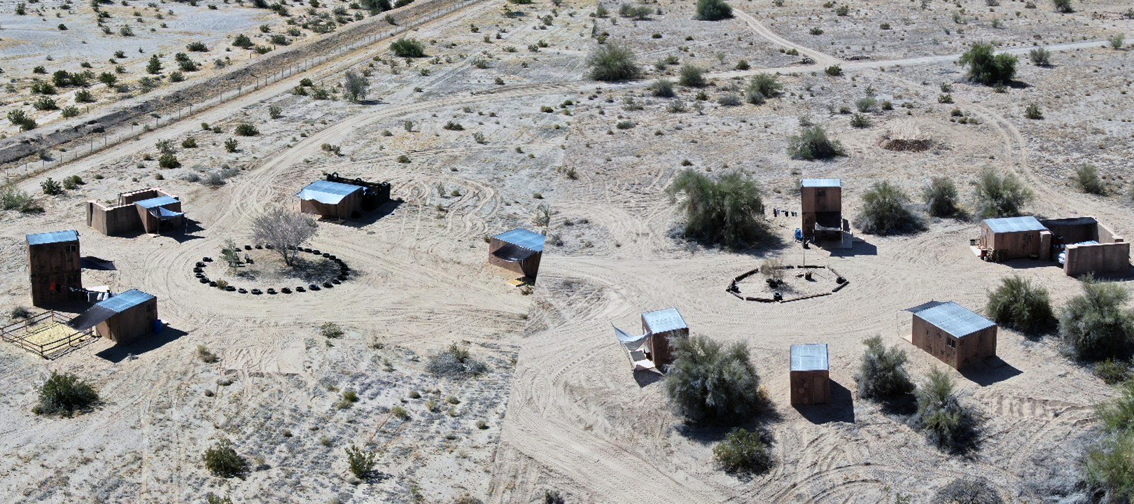 Area 33 FTX support site at Desert Center, CA