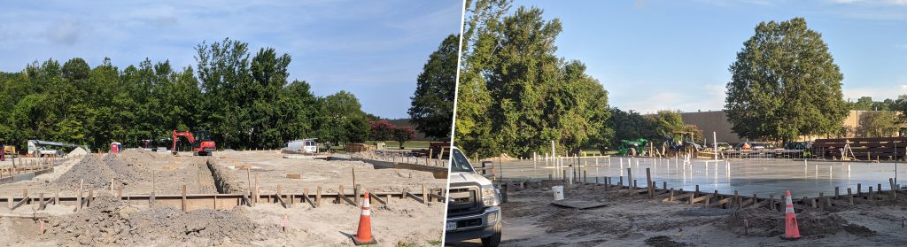solid foundations— new Point One HQ building update—concrete