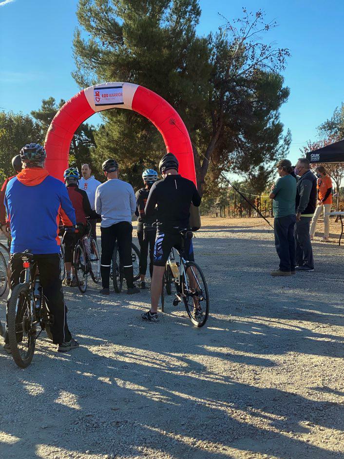 EOD Dedication Cycling Series Cyclists